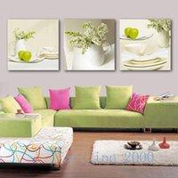abc life - Original US high tech HD Print Abstract Oil Painting Wall Decor Art on Canvas Tree abc