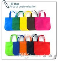 advertisement handle - 32 custom gift advertisement Reusable Recycle non woven shopping bags recyle supermarket non woven bags with handles
