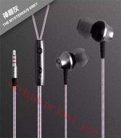 big ears microphone - 3 mm big Bass Metal Earbuds Earphones Headset Earbuds In Ear with Mic Universal Earphone for Iphone Ipad Samsung nokia PC MID MP3 MP4