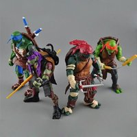 Wholesale Hot Teenage Mutant Ninja Turtles Movie quot Action Figure Toys TMNT Christmas gifts for children