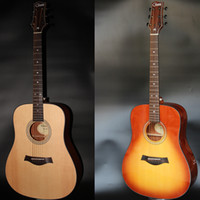Wholesale Handmade good quality acoustic guitar accept custom Chinese brand guitar
