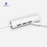 Wholesale Multifunctional USB LAN HUB fast ethernet adaper non dirver for MAC windows Linux hight speed surfing