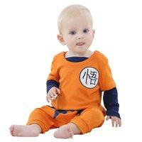 baby dragon costume - Unisex baby Summer Dragon Ball Goku Animal Romper Onesie toddler Cosplay Sleepwear