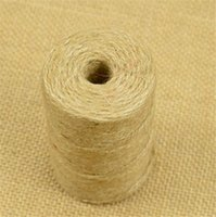 Wholesale 2mm Hemp Rope Three ply ropes Woven Natural Hemp Rope DIY good material pure linen handmade good helper