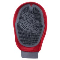 Wholesale 4 Brand New Pet Brush Dog Grooming Cat Grooming Glove Right Left Handed Fit FS01266