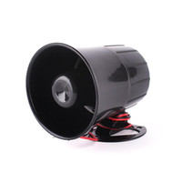 Wholesale Hot sale High quanlity Tone Loud Car Security Alarm Siren Horn V ABS DB