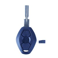 Wholesale Car Buttons Diamond Shaped Replacement Keyless Entry Remote Key Fob Transmitter For BMW Series Head Chip
