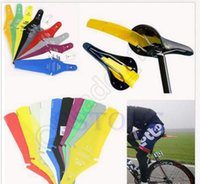 Wholesale Bike Fender Cycling MTB Race Road Commuter Bicycle Saddle Mudguard Rear Fender Removable Parts colors OOA93