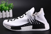 best professional shoes - Cheap NMD Human Race Runner Boost Running Shoes Pharrell s Runners Professional Best Quality Shoes Sneaker US5