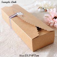 apparel sample - SAMPLE Kraft Paper Box Cardboard Pack Boxes Craftwork Gift Ear Rings Kraft Paper Boxes cm SPP053
