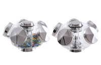 Wholesale Popular Acrylic Sugar Case Candy crystal box rotating