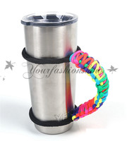 Wholesale YETI cups Handle Handmade Paracord Yeti Rambler oz oz Tumbler Handle have in stock Z239 L