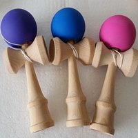 Wholesale Wood Game Toys BKendama Ball Funny Japanese Traditional Beech Wood Traditional Wood Game Toy Education Gift Children Toys Colors Available