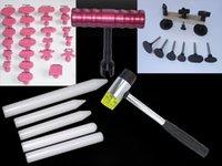 Wholesale Mini lifter pdr Bridge tools car repair T bar paintless Auto repair puller Glue Tabs Hammer white Tap Down Pen