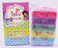 Wholesale New Arrivals OMO White Plus Soap fruitamin soap Mix Color Plus Five Bleached White Skin Gluta Rainbow Soap