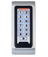 Wholesale ENNIO SY5000W Waterproof RFID Proximity Door Access Controller IP68 Entry Door Lock Alarm Keypad Strong Zinc Alloy Electroplated anti vandal