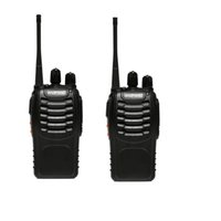 Wholesale 2 Piece BAOFENG BF S Walkie Talkie UHF MHz W Channel VOX Flashlight Scan Monitor Voice Prompt Single Band Two Way Radio