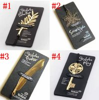 Wholesale 2016 Exquisite Mini Bookmarks Palm Frond Feather Key Bookmarks Metal Paragraph Creative Bookmarks Wedding Supplies E868E