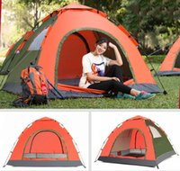 Wholesale Quality New Portable single Layer Person Rainproof automatic Outdoor Camping Tent for Hiking Fishing Hunting Adventure