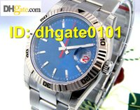 auto graph - new watches President Champagne Automatic Luxury Mens Watch Wristwatch UNWORN DATEJUST TURN O GRAPH STEEL BLUE