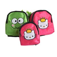Wholesale New Arrival Dog Cat Food Backpack Frog Pattern Outdoor Travel Bag For Pets Best Quality Cloth Green Rose Color