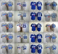 angeles dodgers - MLB Dodgers jerseys Baseball jerseys Los Angeles KERSHAW PUIG GONZALEZ VALENZUELA RYU RAMIREZ Blank freeshipping