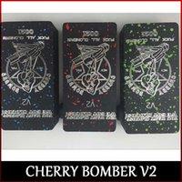 Bombardier <b>Cherry Bomber V2</b> Cherry Cherry Bomber 2.0 mod fit 18650 batterie 510 atomizer Vaporisateur Mod freeshipping