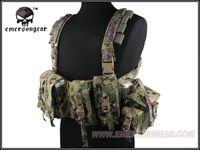 airsoft usa - USA D Cordura AOR2 EMERSON LBT A R Chest Rig Tactical navy Vest Airsoft Gear navy