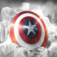 Wholesale HD Print Oil Painting Wall Decor Art on Canvas CAPTAIN AMERICA SHIELD