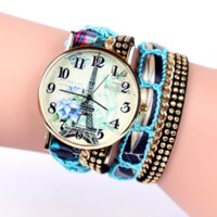 Women's apparel limited - 2016 popular fashion design iron tower Ladies Watches casual style bracelet watch women s apparel Geneva watch brand long chain