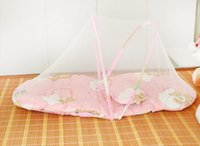 Wholesale Free Installation Children BNed Ets Take Hold Of Babies Pillow Bedstead Closed Nets Folding Ger Veil