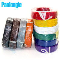 Wholesale UL1007 Electronic Wire Electrical Wires awg mm PVC Electronic Wire Electronic Cable UL Certification AWG