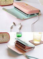 barrel iphone - Hot New multifunction women wallets Coin Case purse for iphone Galaxy Women s fashion wallet b26 Drop Shipping