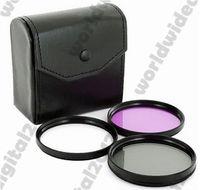 Precio de Cerca filtros-55MM cerca de macro Kit de filtro de la lente SLR + Graduado azul gris + UV CPL FLD Kit Filtro + Hood para
