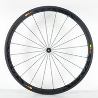 Wholesale A pair road bike wheels mm clincher bicycle wheelset chinese carbon wheels carbon rim with k weave