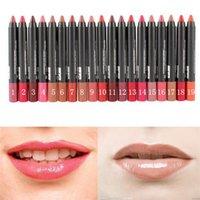 Wholesale 19 Colors Sexy Long Lasting Waterproof Lip Gloss Lip Pencil Lipstick Lip Pen Beauty Makeup Cosmetics H8