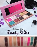 Wholesale Five Star Beauty Killer Eyeshadow Palette Colors Eye Shadow Makeup Cosmetics Highlight Jeffreey Star