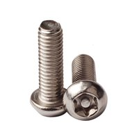Wholesale 50pcs M4 Pin In Torx Button Head Security Screws Stainless Steel Torx TR Bolt