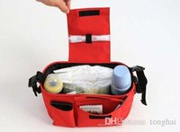 Wholesale Strollers Organizer Baby Basket Pushchair Diaper Nappies Mother Expanded Bag New H2010189