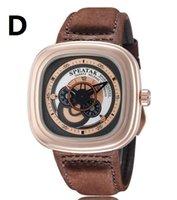 aa watch batteries - 2016 NEN Authentic men s wrist watch leather strap casual men s watch quartz watch Free transportation aa