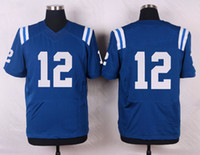 Wholesale 2016 Men s elite COLTS football jerseys rugby jerseys Cole Jackson Gore Unitas Blue White sports wear