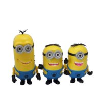 Wholesale New Mini Portable Minions Speaker Cute Minion Despicable Me Speakers Micro SD TF Card USB MP3 Music Player Amplifier for Phone