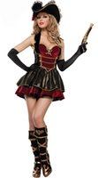 adult womens pirate costume - Adult Womens Sexy Pirate Costume Swashbuckler Wench Girl Halloween Fancy Dress