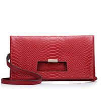 Wholesale Fashion Womens Clutch Bags Genuine Leather Envelope Bags Socialite Evening Clutch Bags Chirstmas Halloween Gifts for Womens CH800014