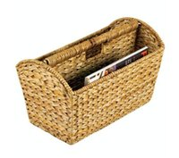 antique magazine racks - Household Essentials Wicker Magazine Rack Natural