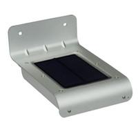 Solar Powered Sensor Lampes murales d'économie d'énergie Panneau solaire Lampe LED 800mAh SL-10P Pour pont extérieur Jardin Jardin Accueil Escaliers
