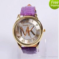 Wholesale Michael Kores MK style wristwatch watches Stainless Steel Watch Bands bracelet top brand luxury for men women Smilecn LV CC GG NO3