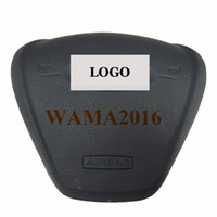 auto wheel bag - Car styling Auto Driver SRS steering wheel Airbag cover for Ford Fiesta air bag cover with LOGO
