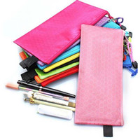 Wholesale High Quality Waterproof Stationery File Bags With Zipper File Folder Canvas Zipper Paper Clip Pencil Bag File Bag Papelaria