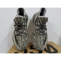 Wholesale Kanye West Y Boost V2 Stealth Grey SPLY Running for Men US5 With Box glow in the dark